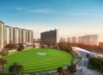 2 BHK + 2T Apartment in Eldeco Live by the Greens - Plan B
