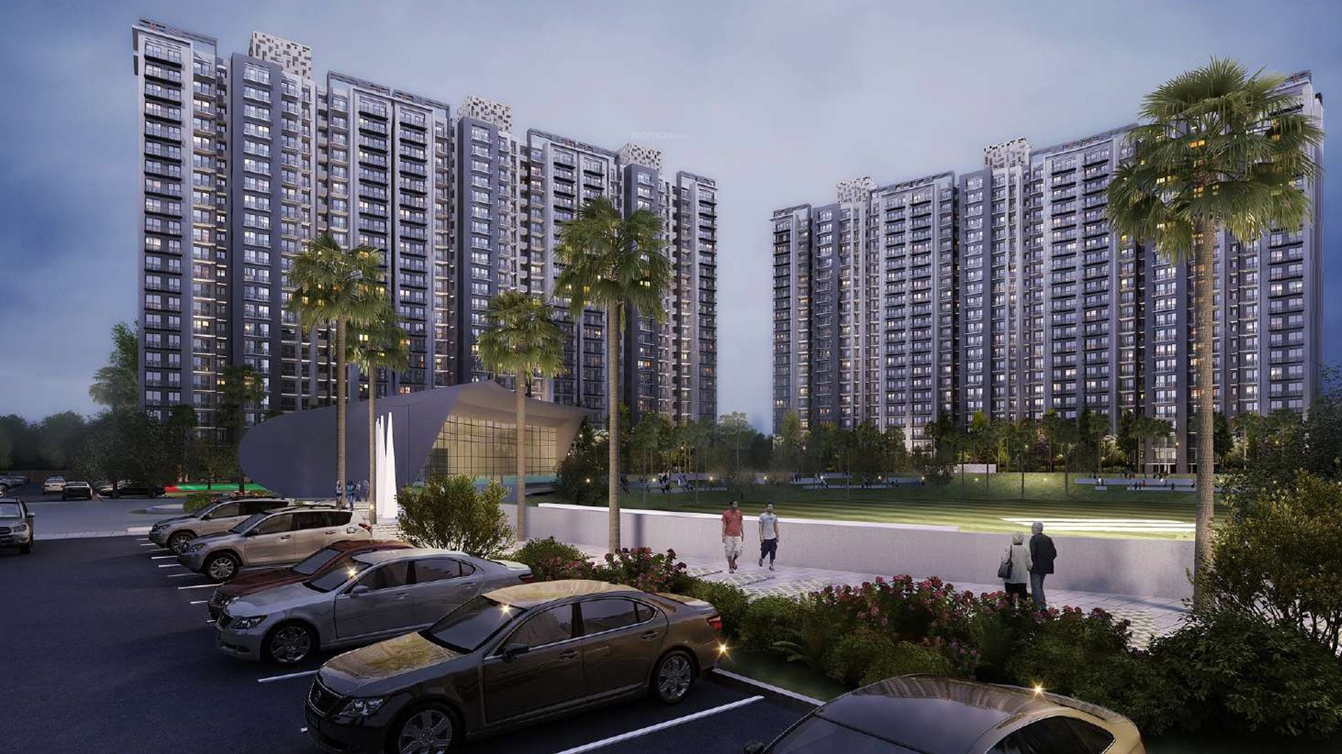 3 BHK +3T Apartment in Eldeco Live by the Greens